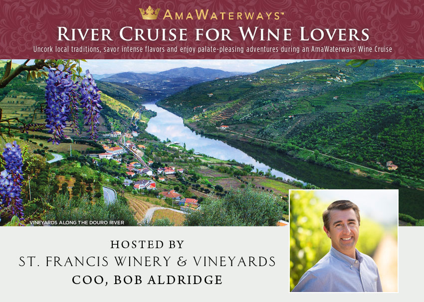 Cruise with Bob Aldridge of St. Francis Winery & Vineyards