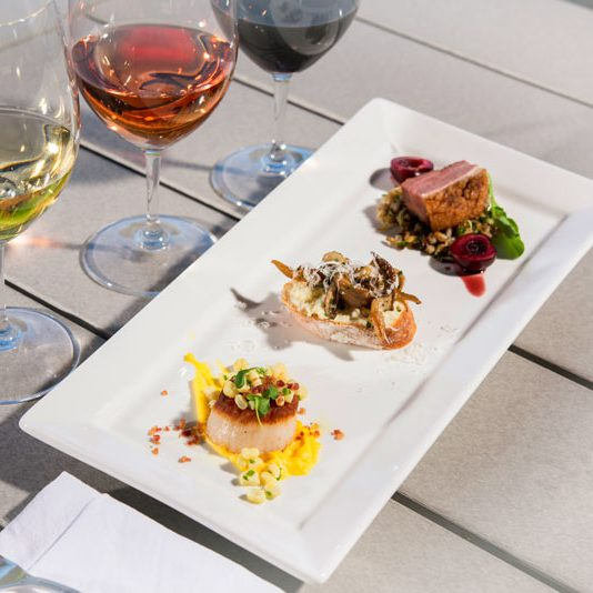 Estate Pairings are being served at Sonoma County wineries.