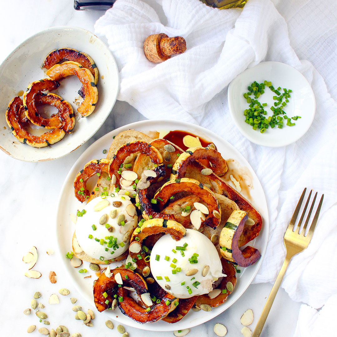 Burrata and Delicata Croistini