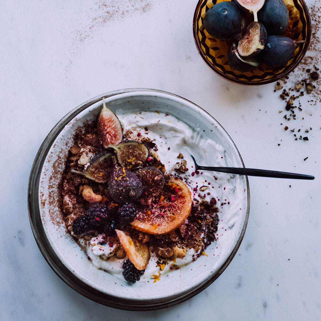 plated figs