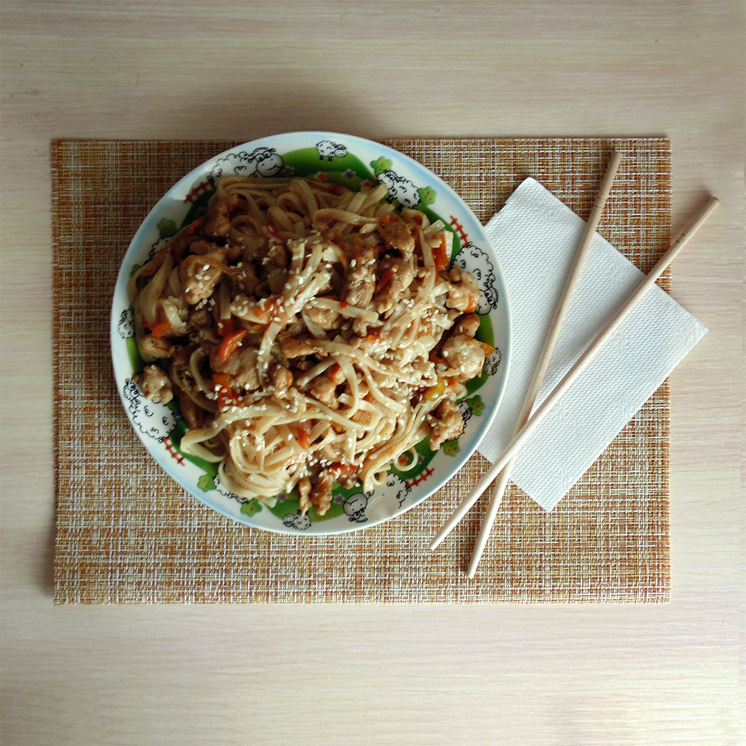 Lobster Chow Mein