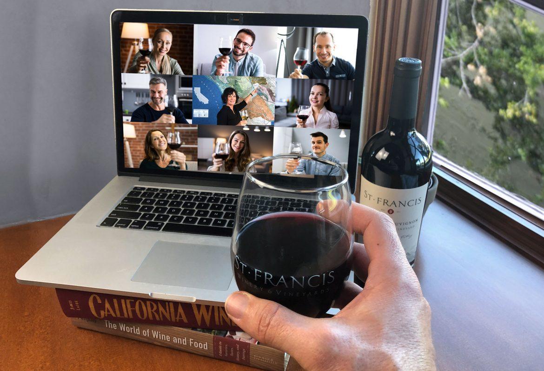 Best Virtual Wine Tastings at St. Francis Winery