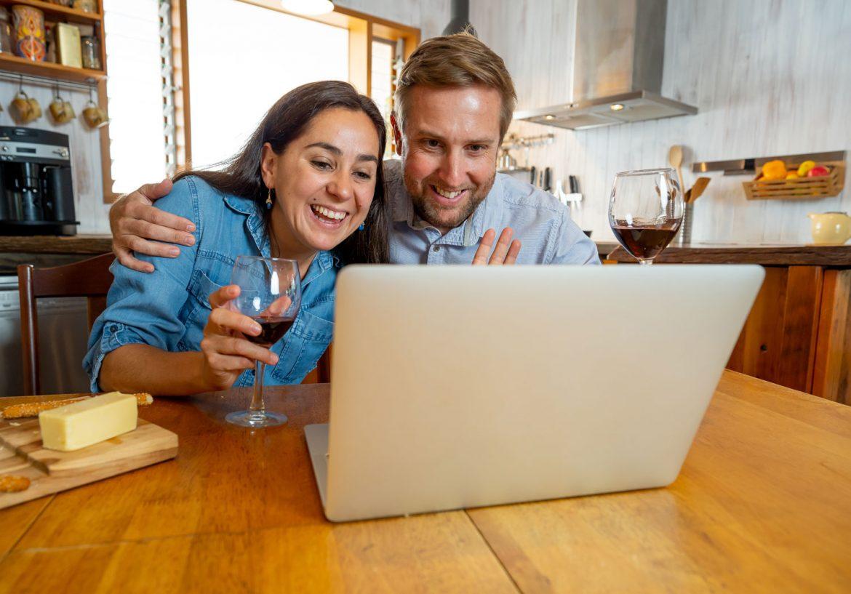 Virtual Tasting Couple