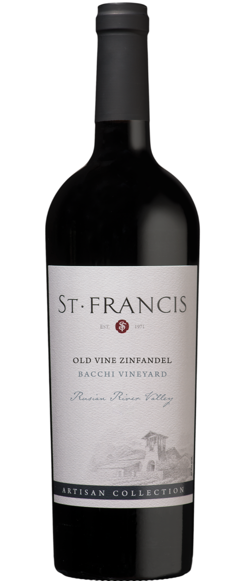 Old Vines Zinfandel, Bacchi Vineyard, Russian River Valley